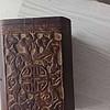 笔筒 黄杨木雕 是老工艺否?