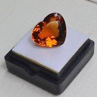 黄水晶 11.06克拉纯天然无加热巴西黄水晶 旺财石