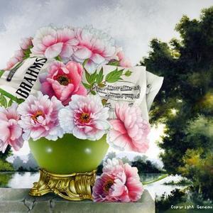 法国画家 Alain Geneau 榭如 作品