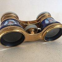 珐琅古董望远镜