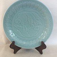 龙泉青瓷 鱼盘鱼碗