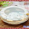 陶瓷烟灰缸复古中国风简约大号复古办公家庭酒吧烟缸陶瓷大号