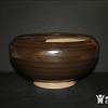 YUAN 明:紫金釉 钵式炉