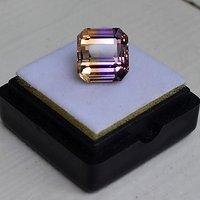 紫黄晶 5.95克拉纯天然无加热南美玻利维亚紫黄晶