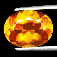 欧泊石 纯天然无任何处理欧珀 4.37克拉椭圆型 极靓七彩