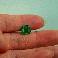 祖母绿宝石戒面 收藏级天然哥伦比亚祖母绿2.15克拉